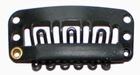 Small U-shape clip, color: Black