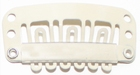 Medium U-shape clip, kleur Blond