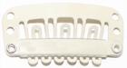 Medium U-shape clip, color: Blond