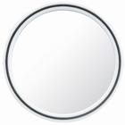 Magic Kappersspiegel  Ø 22 cm., kleur: Wit