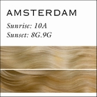 Clip-In Weft set Memory Hair 45cm. Color: Amsterdam