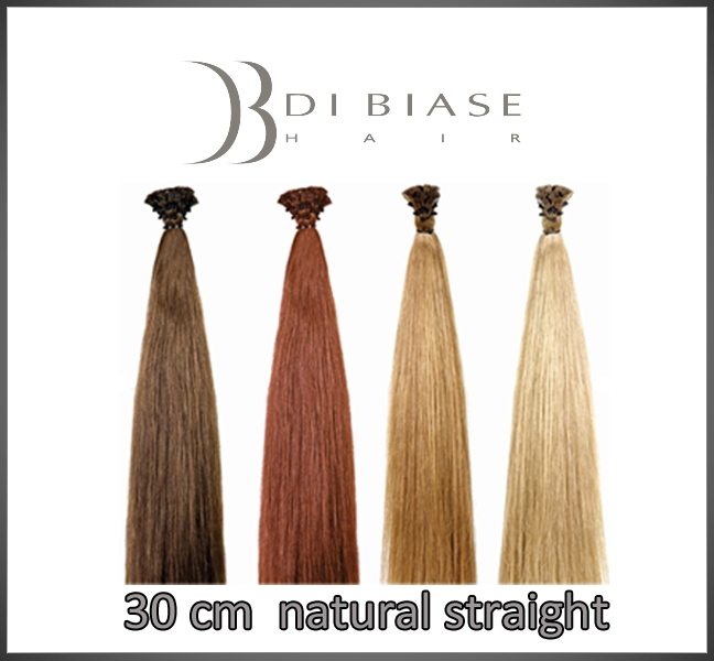 30 cm. natural straight