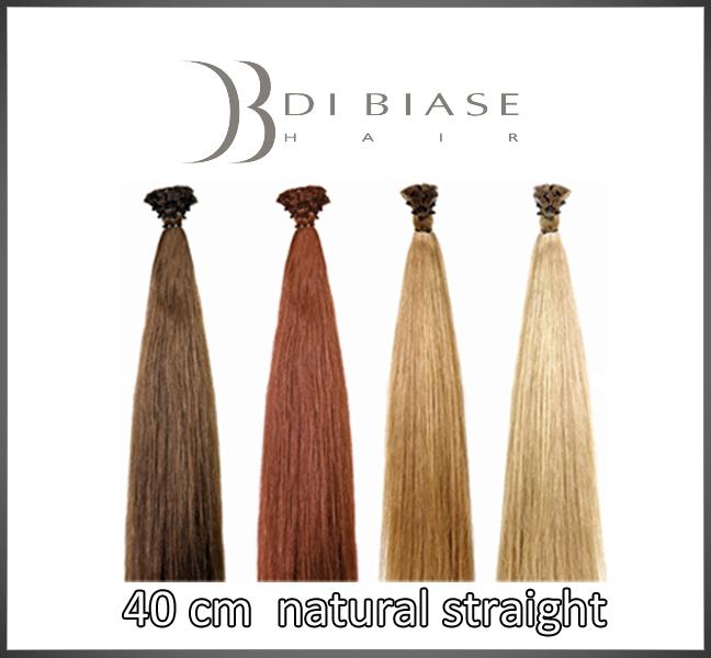 40 cm. natural straight
