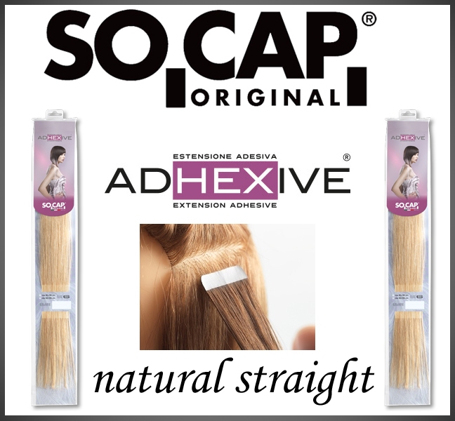 50 cm. Tape extensions natural straight
