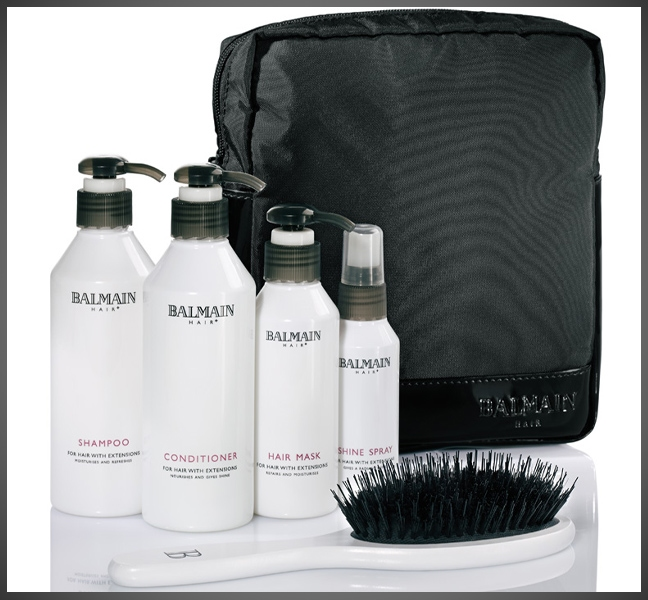 Balmain After Care products