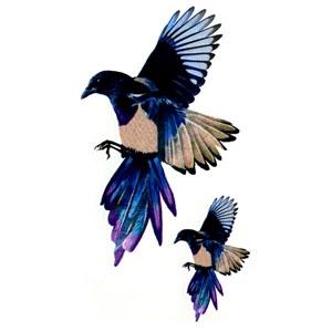 Birds Flash Tattoo