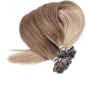 Hairextensions keratin bonded