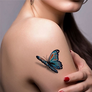 Butterfly Flash Tattoo