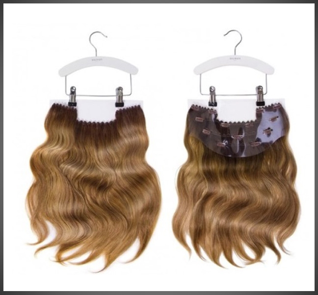 Clip In Weft Set Memory Hair
