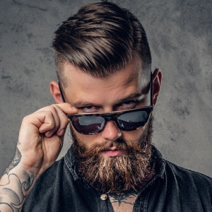 MEN HAIR - BEARD & SHAVE