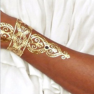 Metallic Flash Tattoo