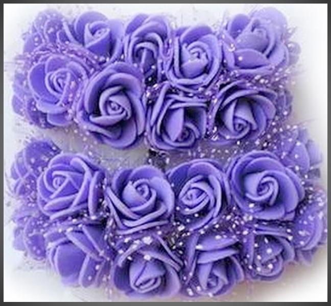 Mini Blumen PE Schaum