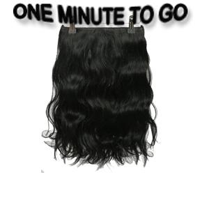 ONE MINUTE TO GO  30 cm. Wavy