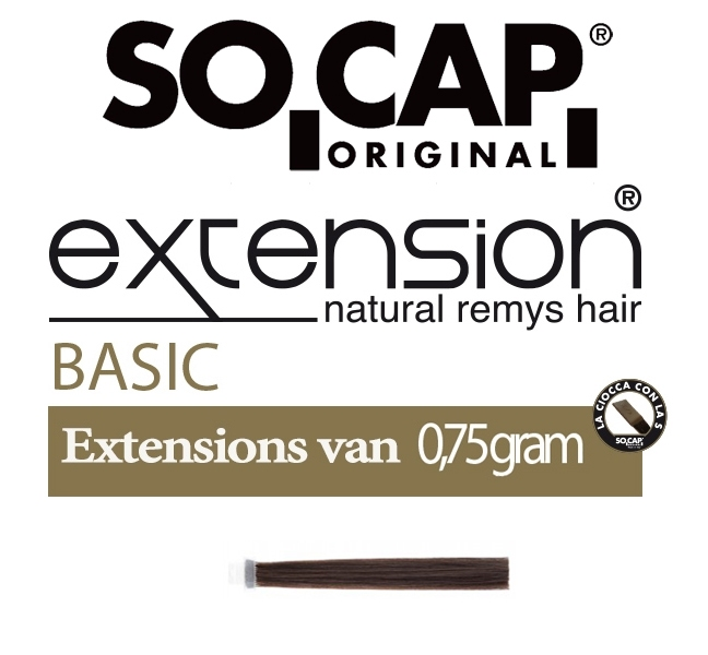 Socap 30/35 cm. natural straight