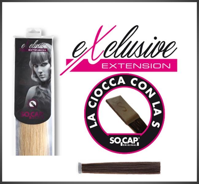 Socap 40/45 cm.Exclusive natural straight