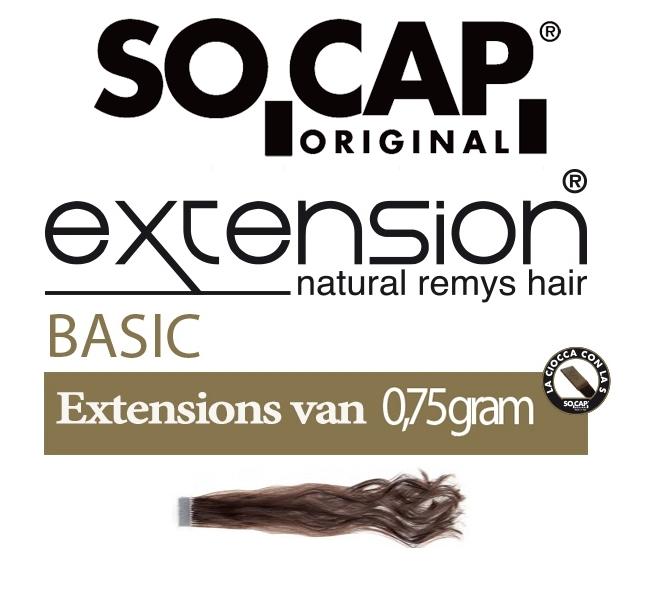 Socap 50/55 cm. natural wavy