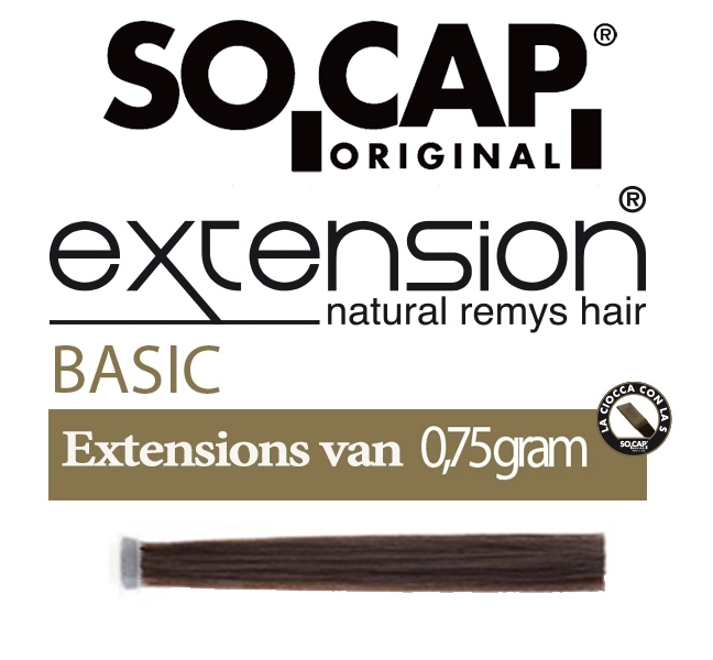 Socap 60/65 cm. natural straight